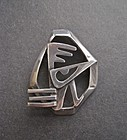 Vintage Salvador Teran Design Bird Brooch Pendant