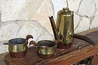 Spratling Design Coffee Pot, Sugar & Creamer