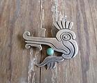 Vintage Early Taxco Silver Brooch 980 Pre Eagle