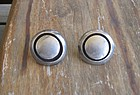 Vintage Sterling Silver Niello Layered Mexican Earrings