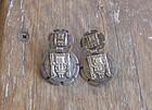 Vintage Welsch Sterling Earrings Peru