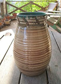 Rare Halcyon Pottery California Arts & Crafts Vase