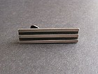 Vintage Antonio Pineda Silver Modernist Tie Bar 970