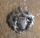 Rare Vintage Peter Traphagen Silver Arts Crafts Brooch