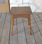 Arts & Crafts Mission Oak Taboret Small Table