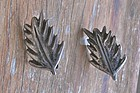 Hector Aguilar Early Sterling HA Earrings Pre Eagle
