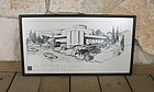 Frank Lloyd Wright Dallas Theater Center Print Original