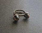 Vintage N E From Denmark Modernist Ring Sterling
