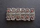 Vintage Matilde Poulat Matl Sterling Coral Bracelet