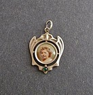 Vintage Arts and Crafts Silver Locket