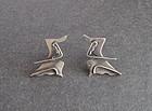 Miraglia Sterling Dancer Earrings Wiener Design