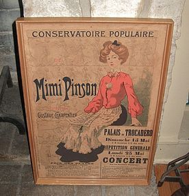 1902 Mimi Pinson French Poster Greer Garson Estate