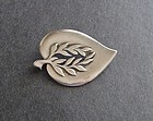 Vintage Sterling Denmark E Dragsted Cut Out Brooch