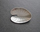 Danish Modernist Hermann Siersbol Sterling Lily Pin