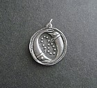 Vintage James Avery Zodiac Pisces Pendant Sterling Silver Retired