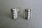 Danish Modernist John Lauritzen L Sterling Cuff Links Denmark