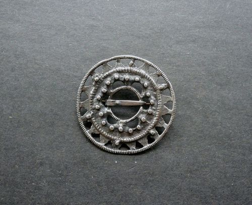 David Andersen Norway Sterling Brooch Kopi Fra Folkemuseet