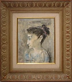 SARKIS SARKISIAN, ANCIENT QUEEN, 1961