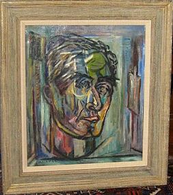 "EMIL KELEMEN ""SELF-PORTRAIT 1961"""