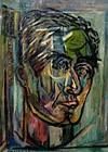 """EMIL KELEMEN """"SELF-PORTRAIT 1961"""""""
