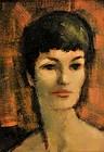 JAN DE RUTH, PORTRAIT OF NINA, CIRCA 1960s