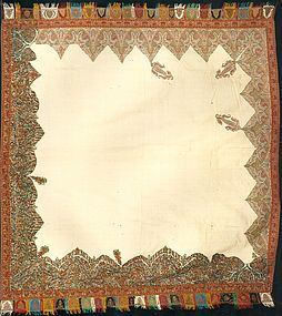 ANTIQUE KASHMIR SHAWL, CIRCA 1810