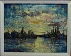 HARRY SHOULBERG, SKYLINE, CIRCA 1950S