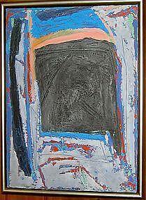 HERB JACKSON, BLUE GATE, 1987