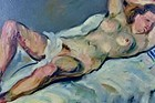 JACQUES KOSLOWSKY UNTITLED NUDE, 1950-1960.