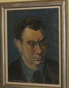 JAMES LECHAY PORTRAIT OF DE HIRSH MARGULES 1941