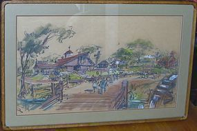 RANDALL DUELL ARCHITECTURAL CAROWINDS PARK DRAWING