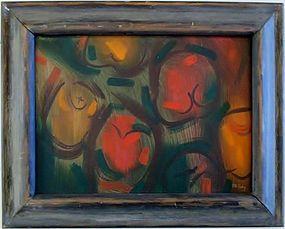 """JAMES MCCRAY """"POST HYDROGEN BOMB 11"""" 1950"""