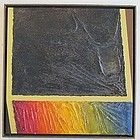 ROGER BRUINEKOOL UNTITLED ABSTRACT 1967