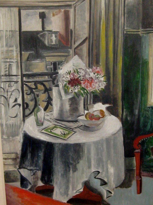 """MILDRED LUCILE CROOKS """"PARIS INTERIOR"""" 1930S"""