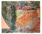 "PAT ADAMS ""CLEARING"" OVERSIZE ORIGINAL PAINTING 1980"