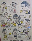 SAM DAVIS ORIGINAL BOXING ILLUSTRATION