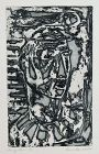 "WENDELL H. BLACK ""HEAD OF A MAN"" ETCHING 1961"