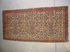 Antique Senneh bagface, 19th Century