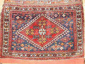 Antique Afshar complete bag, pre-1900