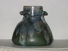 Fine Charles Greber vase, France, Beauvais