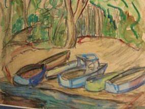 "Jane Baldwin, ""North Gold Creek"""