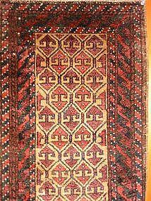 Very Fine Antique Balouchi Balisht, 19th Century