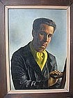 "Max Heimann, ""Self Portrait"""