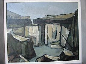 "Robert Broderson, ""Rock quarry"""