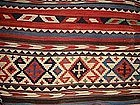 Antique Shirvan Kilim, Nineteenth Century