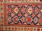 Caucasian long rug (Shusha, Karabagh area).