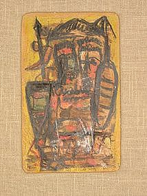 """GEORGE HABERGRITZ, """"East African Theme"""""""