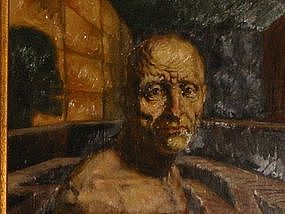 Fred Berger, Chicago, Self-Portrait