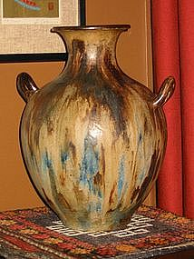Exceptional Roger Guerin Vase, Belgium