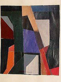 "Loran A.D. Montgomery, ""Premonition"", 1983"